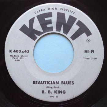 B B King - Beautician Blues - Kent - Ex