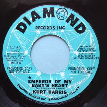 Kurt Harris - Emperor of my baby's heart - Diamond promo - Ex