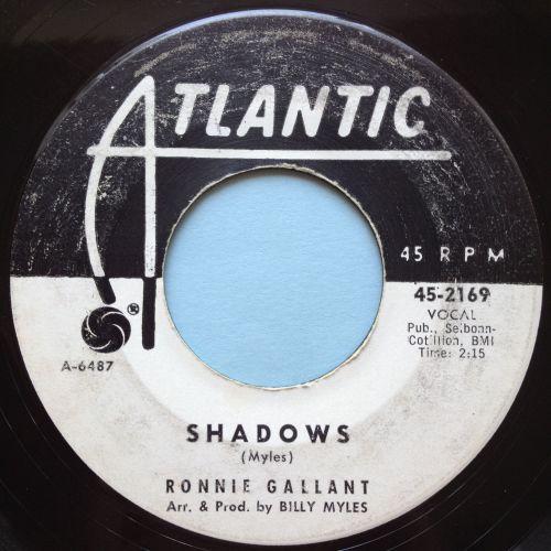 Ronnie Gallant - Shadows - Atlantic promo - VG+