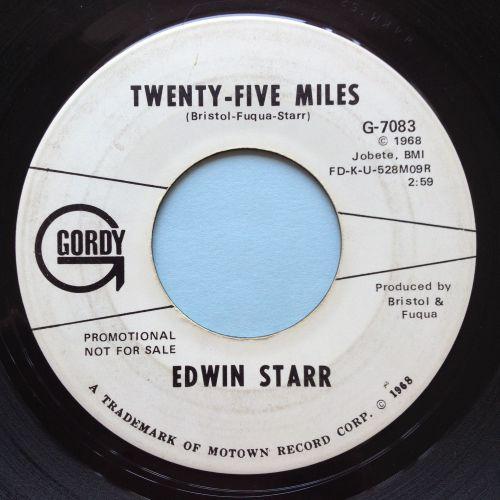 Edwin Starr - 25 miles - Gordy promo - Ex-
