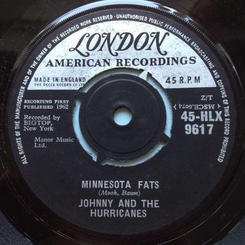 Johnny & Hurricanes - Minnesota Fats - UK London - Ex