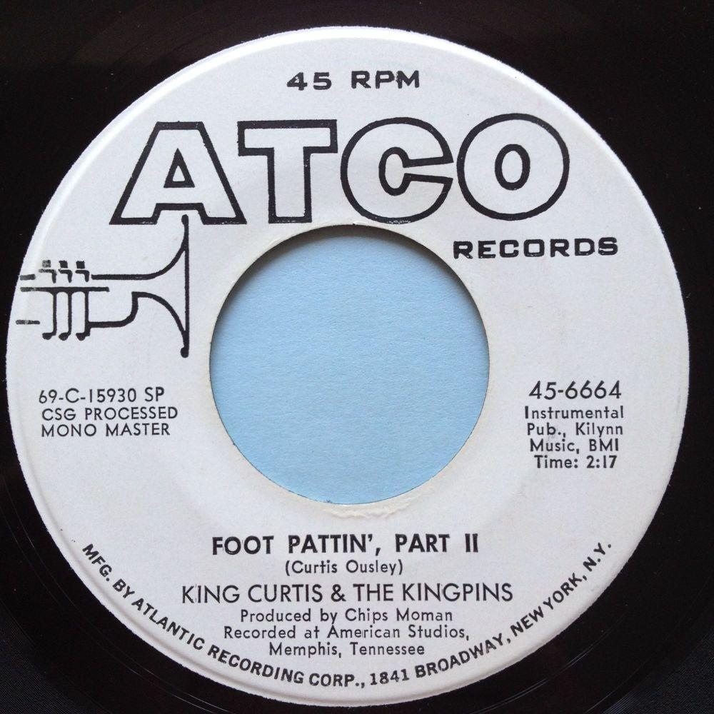 King Curtis & the Kingins - Foot Pattin' Pt.2 - Atco promo - Ex