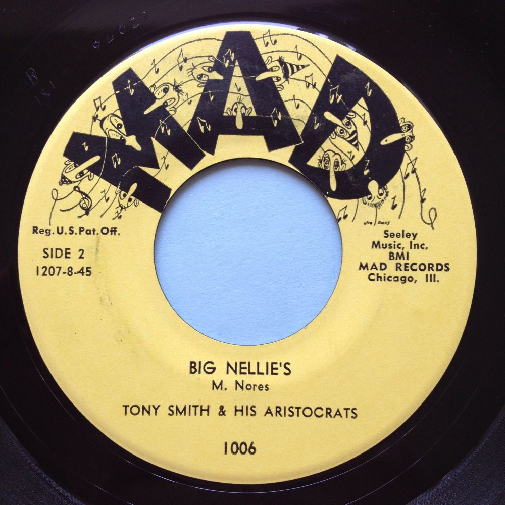 Tony Smith and his Aritocrats - Big Nellies - Mad - Ex
