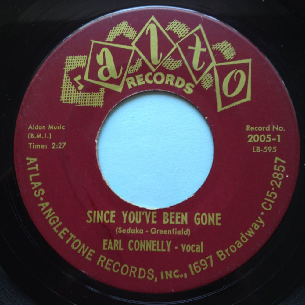 Earl Connelly - Since you've been gone - Alto - Ex-