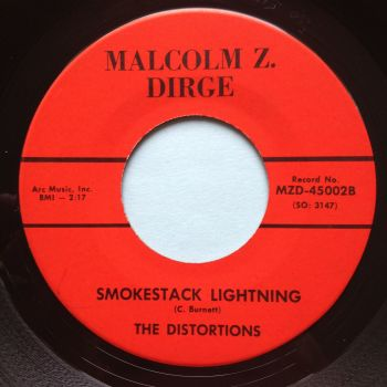 Distortions - Smokestack lightning - Malcolm Z Dirge - Ex