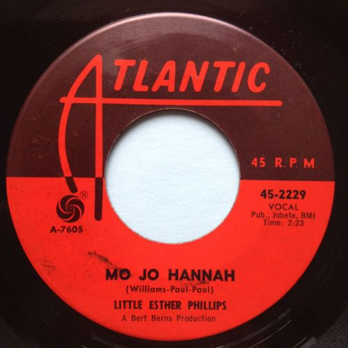 Little Esther Phillips - Mo Jo Hannah - Atlantic - Ex