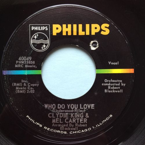 Clydie King & Mel Carter - Who do you love - Philips - Ex-