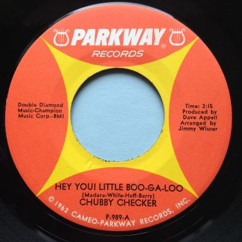 Chubby Checker - Hey you! little Boo-Ga-Loo - Parkway - Ex