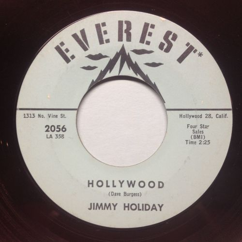 Jimmy Holiday - Hollywood - Everest - Ex-