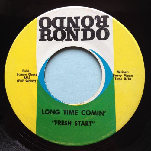 Fresh Start - Long time comin' - Rondo - VG+