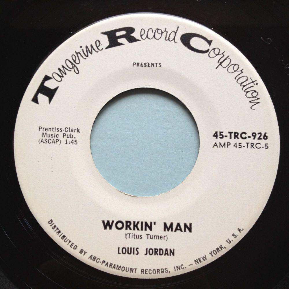 Louis Jordan - Workin' Man - Tangerine promo - M-