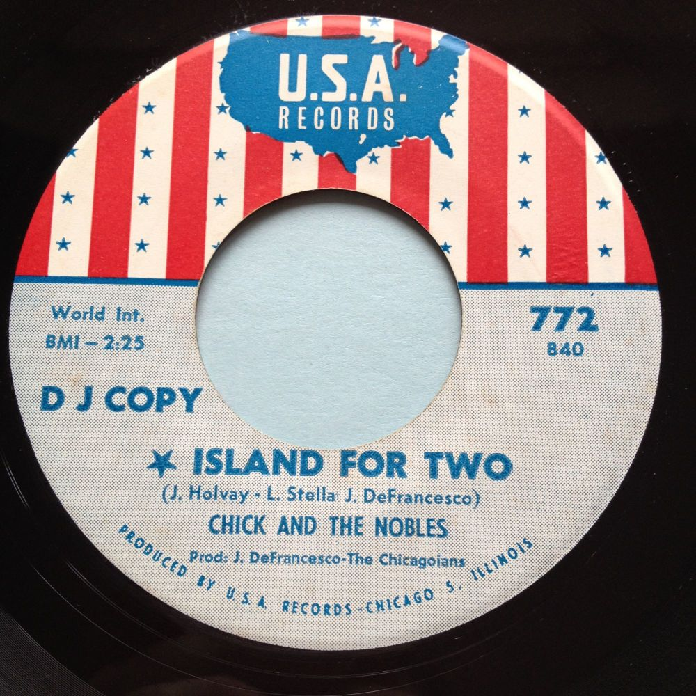 Chick & The Nobles - Island for two b/w I cry - USA promo - Ex