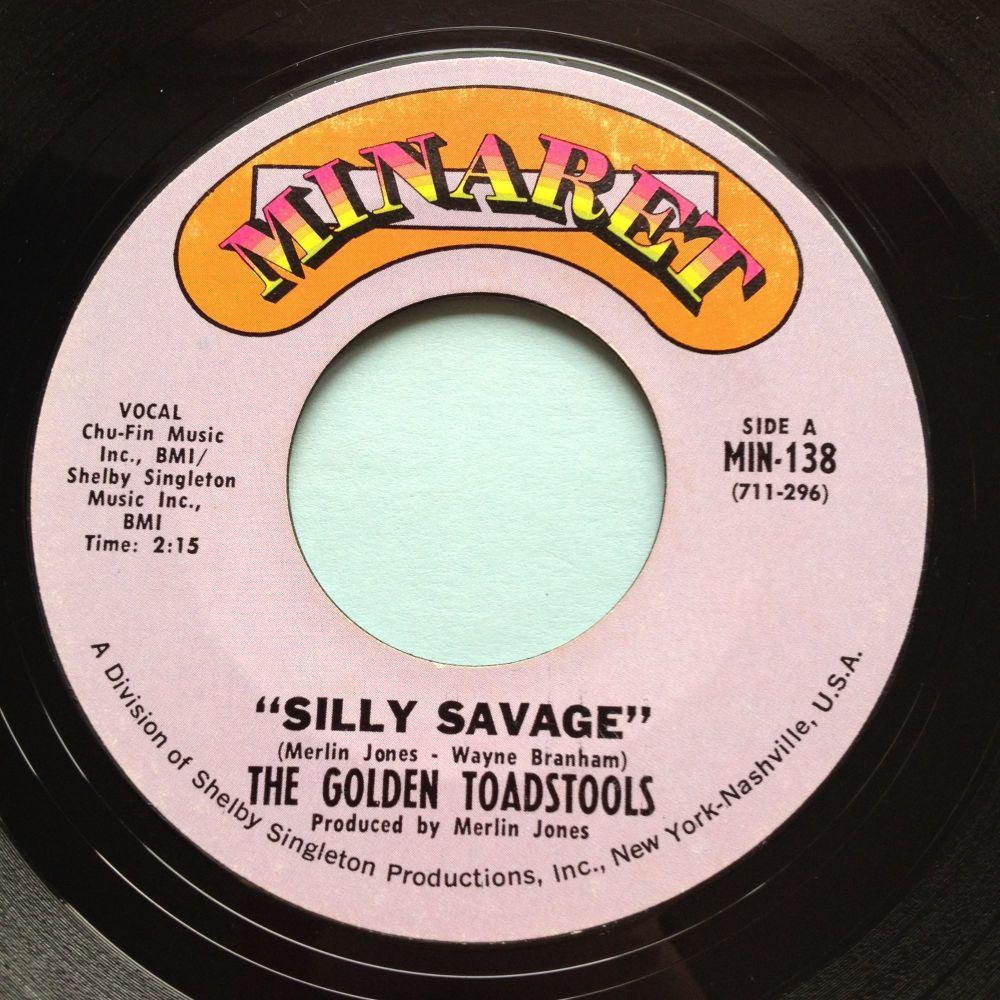 Golden Toadstools - Silly Savage - Minaret - Ex-