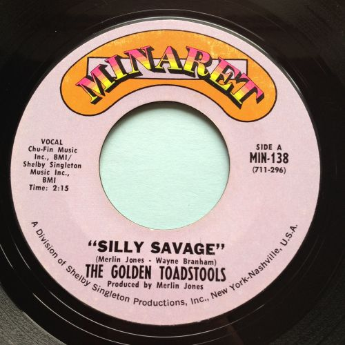 Golden Toadstools - Silly Savage - Minaret - Ex-