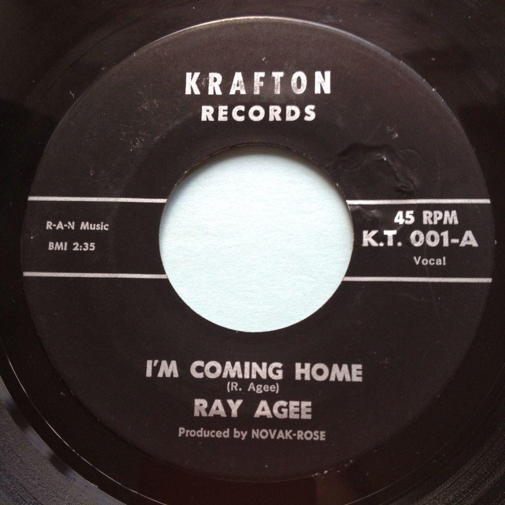 Ray Agee - I'm coming home - Krafton - Ex-