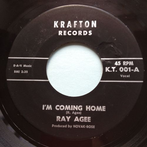 Ray Agee - I'm coming home - Krafton - Ex-