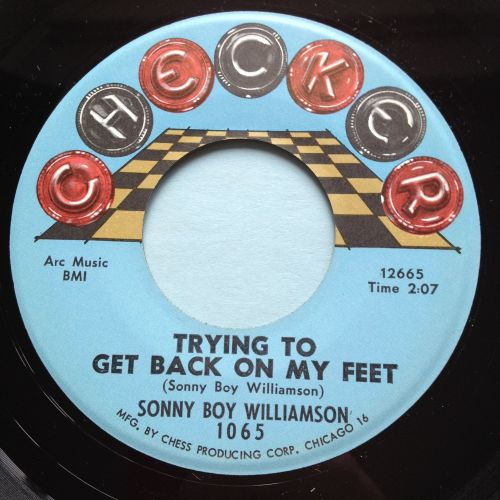 Sonny Boy Williamson - Trying to get back on my feet - Checker - Ex