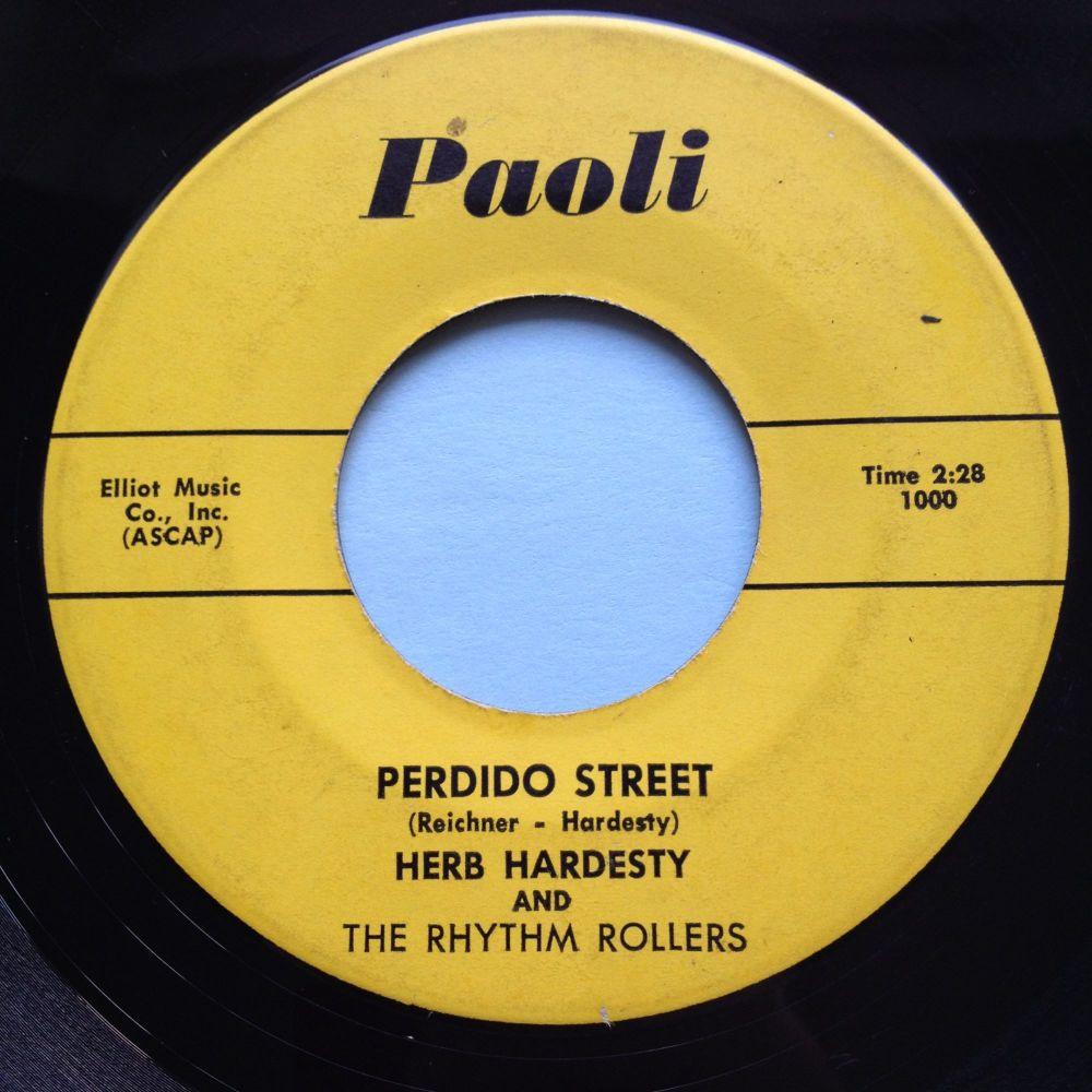 Herb Hardesty - Perdido Street b/w Beatin and blowin' - Paoli - Ex-