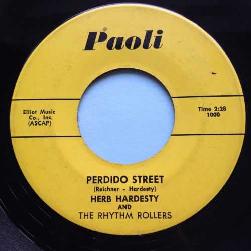 Herb Hardesty - Perdido Street b/w Beatin and blowin' - Paoli - Ex-