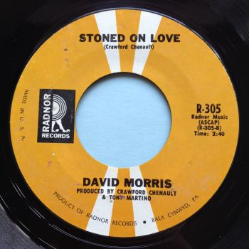 David Morris - Stoned on love - Radnor - Ex-