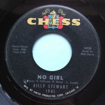 Billy Stewart - No Girl - Chess - VG+