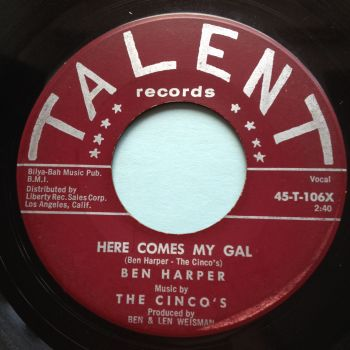 Ben Harper - Here comes my gal - Talent - VG+