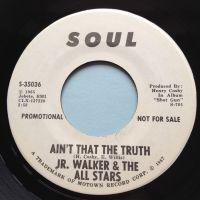 Jr. Walker - Ain't that the truth - Soul promo - Ex