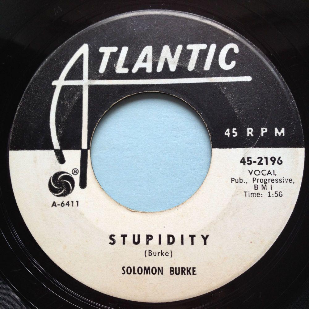 Solomon Burke - Stupidity - Atlantic promo - VG+
