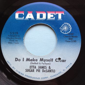 Etta James & Sugar Pie DeSanto - Do I make myself clear - Cadet - Ex