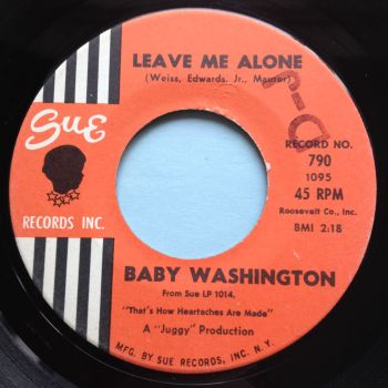 Baby Washington - Leave me alone - Sue - Ex