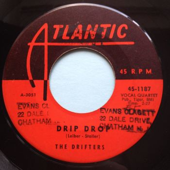Drifters - Drip Drop - Atlantic - Ex