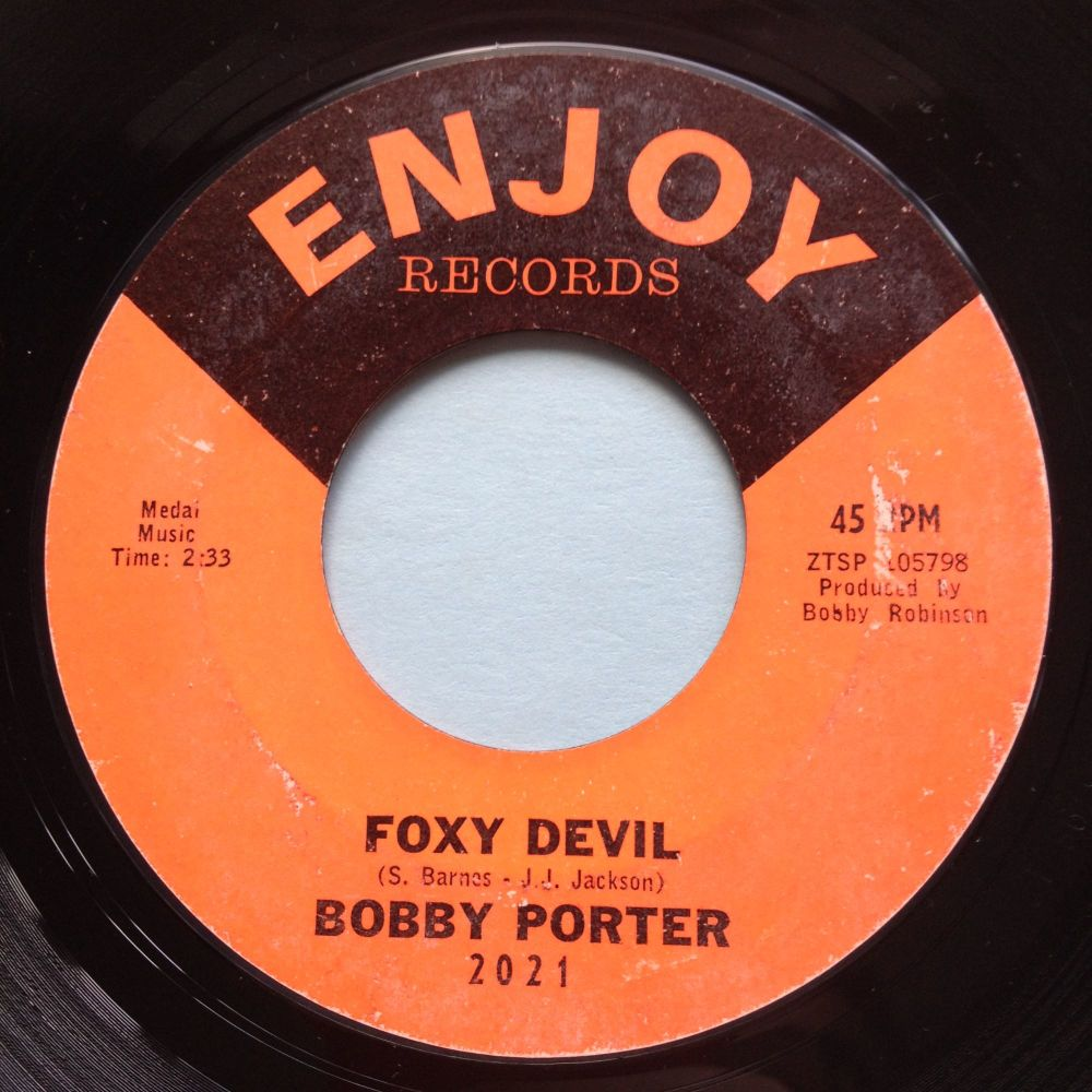 Bobby Porter - Foxy Devil - Enjoy - VG+