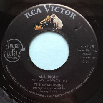 Grandisons - All right - RCA - Ex