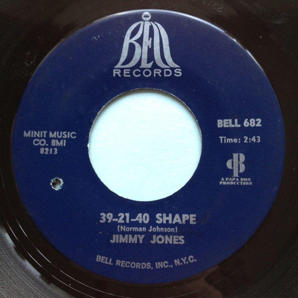 Jimmy Jones - 39-21-40 Shape - Bell - VG+