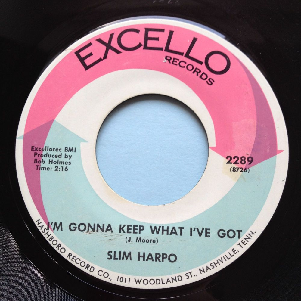 Slim Harpo - I'm gonna keep what I've got - Excello - Ex