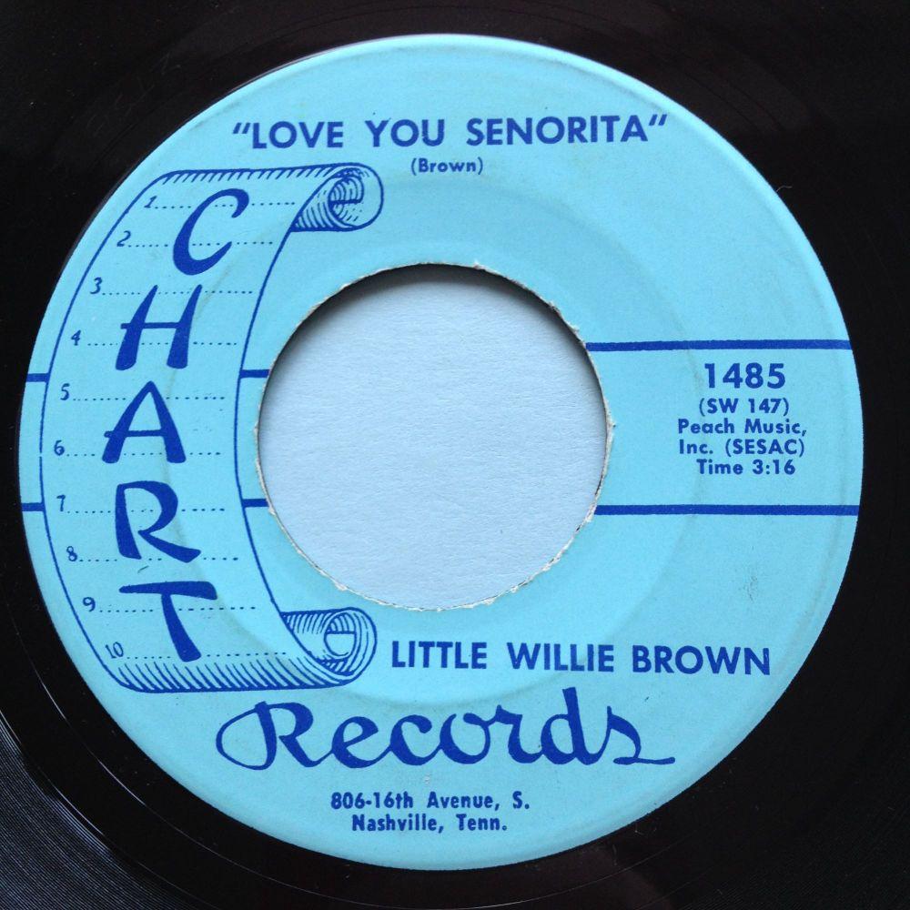 Little Willie Brown - Love you Senorita - Chart - Ex