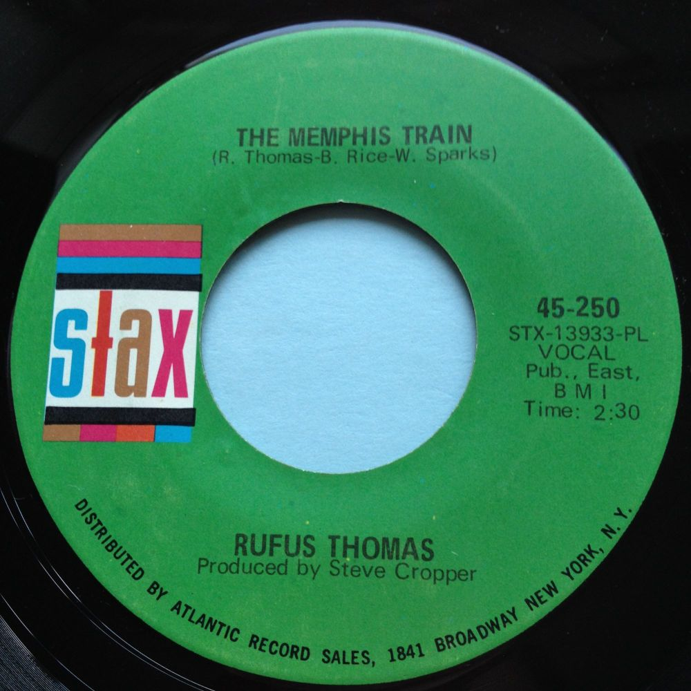 Rufus Thomas - Memphis train - Stax - Ex