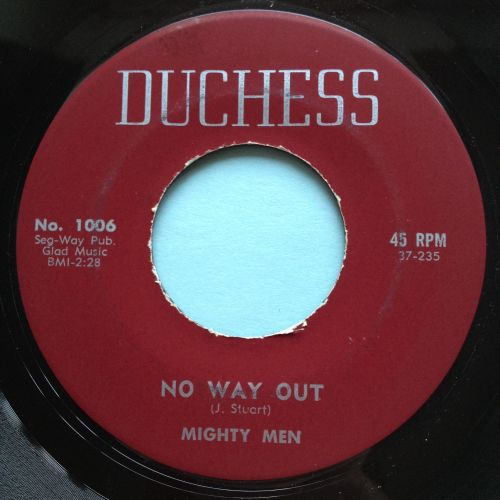 Mighty Men - No way out - Duchess - Ex
