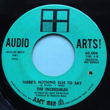 Incredibles - There's nothing else to say - Audio Arts - VG+