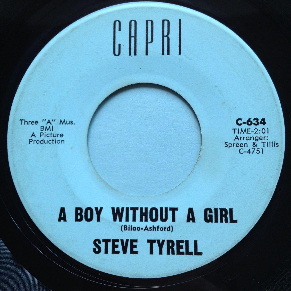 Steve Tyrell - A boy without a girl - Capri - Ex-