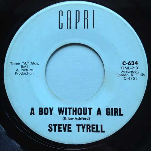 Steve Tyrell - A boy without a girl - Capri - Ex-