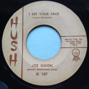 Joe Simon - I see your face - Hush - VG+