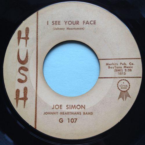 Joe Simon - I see your face - Hush - VG+