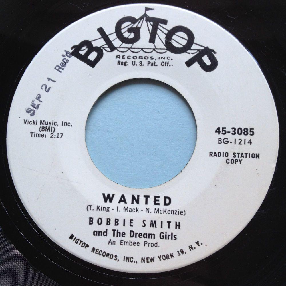 Bobbi Smith - Wanted - Big Top promo - Ex