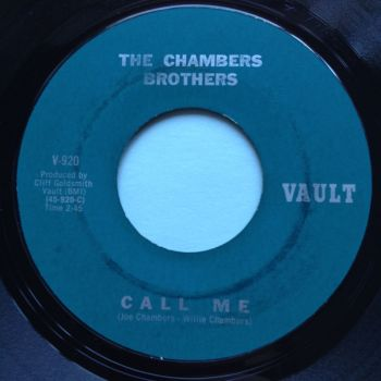 Chambers Brothers - Call me - Vault - Ex-