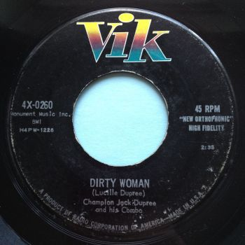 Champion Jack Dupree - Dirty Woman - VIK - VG+