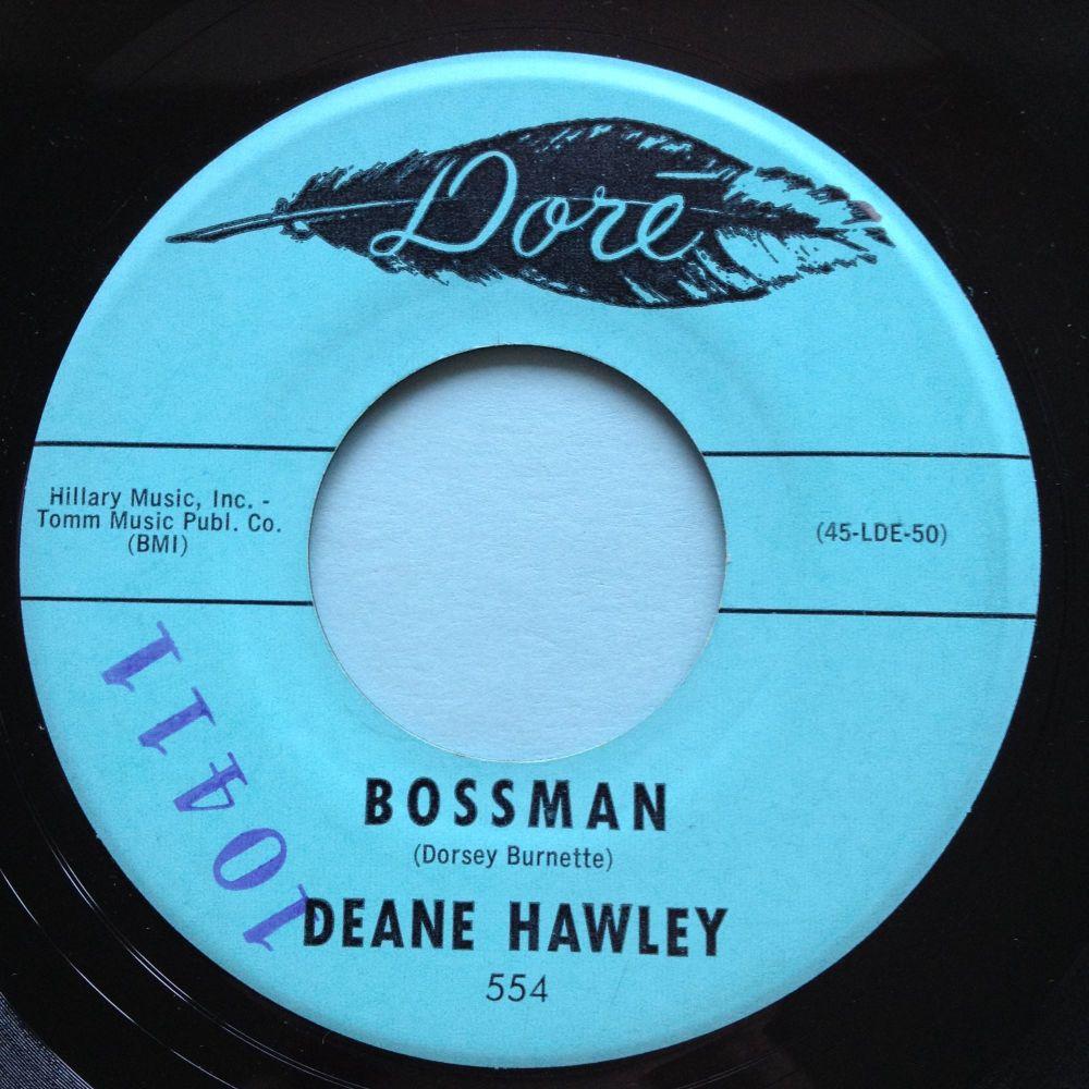 Deane Hawley - Bossman - Dore - Ex