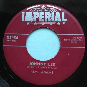 Faye Adams - Johnny Lee - Imperial - Ex-
