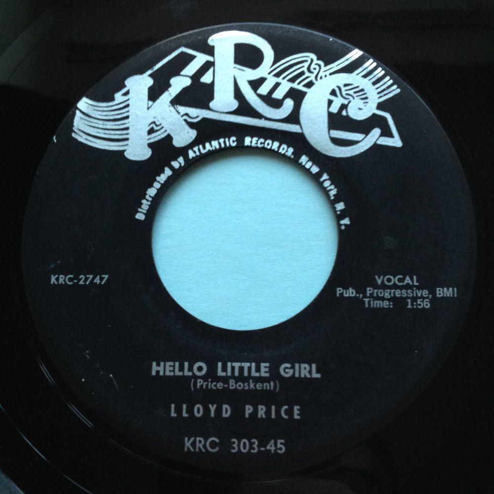 Lloyd Price - Hello little girl - KRC - VG+