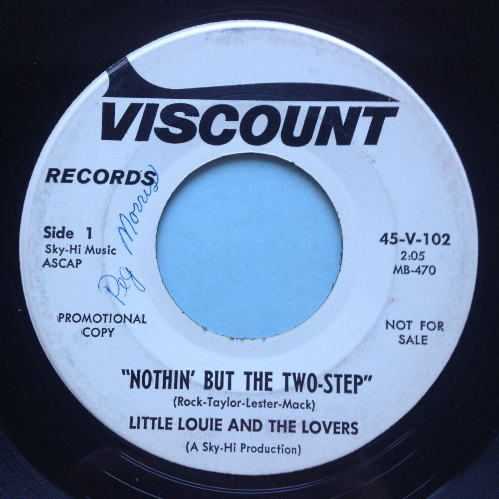 Little Louie & The Lovers - Nothin' but the two-step - Viscount promo - Ex- (swol)